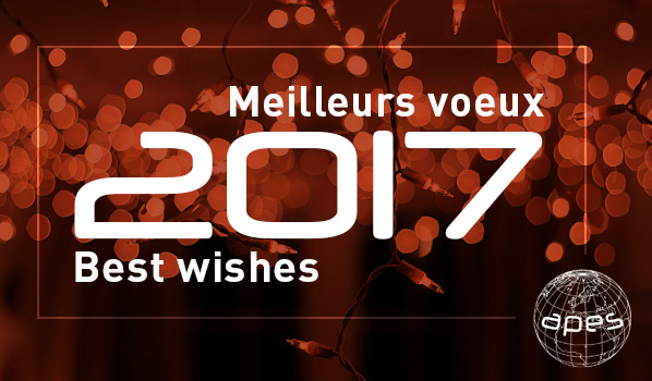 Meilleurs Voeux Best Wishes APES 2017